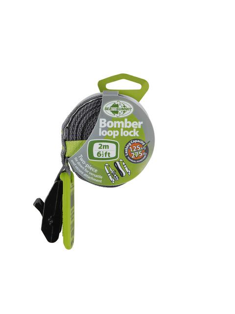 Sea to Summit Bomber - Sangle - 2,0m gris/vert